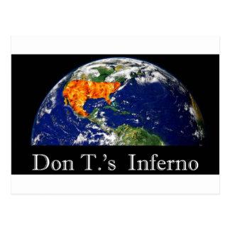 Cartão Postal Inferno de Don t.