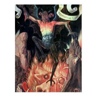 Cartão Postal Inferno, painel do righthand do Triptych de