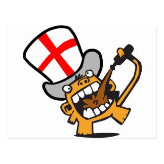Cartão Postal Inglaterra Beermonkey