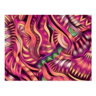 Cartão Postal Inspiração asteca