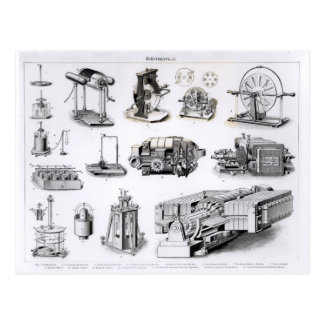 Cartão Postal Instrumentos à descoberta e ao uso de