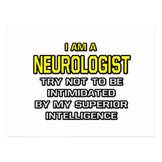 Cartão Postal Inteligência superior do neurologista…