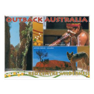 Cartão Postal Interior Austrália