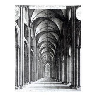 Cartão Postal Interior do Nave de St Paul, 1658