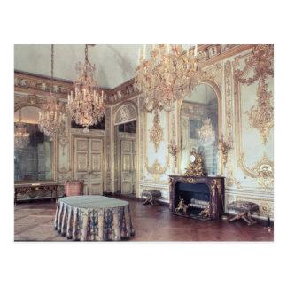 Cartão Postal Interior do Salle du Conseil 1701-55
