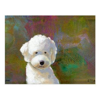 Cartão Postal Intitulado: Eu estou pensando sobre ele - o cão