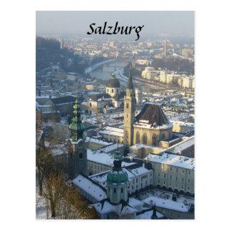Cartão Postal inverno de salzburg