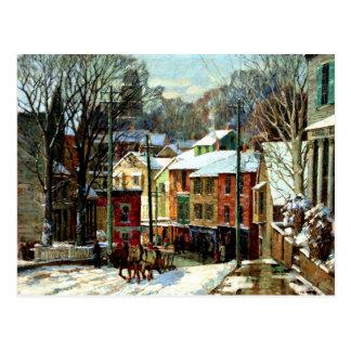 Cartão Postal Inverno em Gloucester
