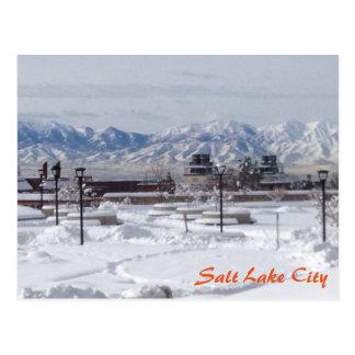 Cartão Postal Inverno em Salt Lake City