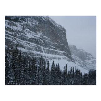 Cartão Postal Inverno nas Montanhas Rochosas