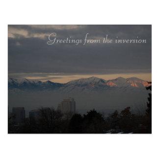 Cartão Postal Inversão em Salt Lake City