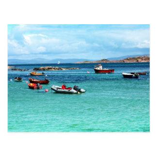 Cartão Postal Iona, ilha escocesa