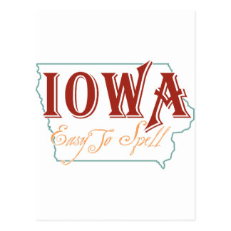 Cartão Postal Iowa