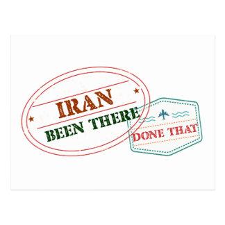 Cartão Postal Irã feito lá isso