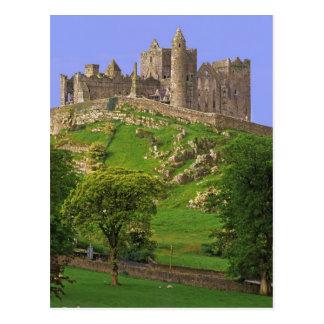 Cartão Postal Ireland, condado Tipperary. Vista da rocha de