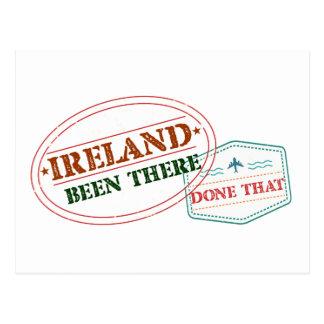 Cartão Postal Ireland feito lá isso