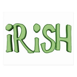 Cartão Postal Irlandês