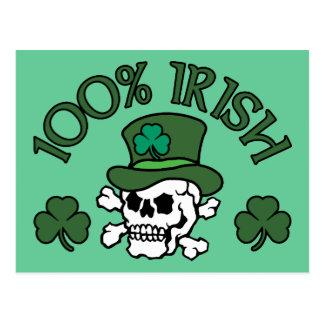 Cartão Postal Irlandês de 100%