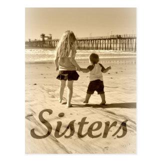 Cartão Postal Irmãs do miúdo