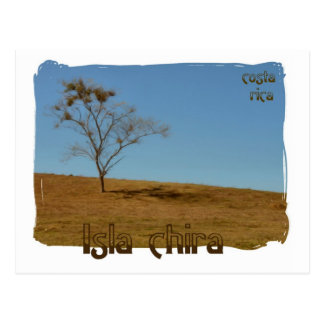 Cartão Postal Isla de Chira