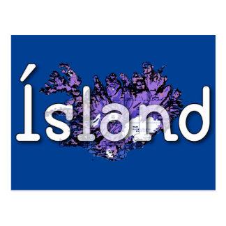 Cartão Postal Islândia