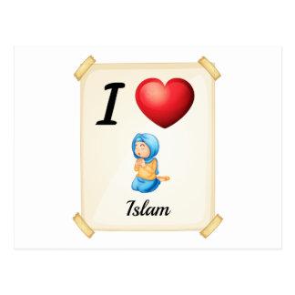 Cartão Postal Islão