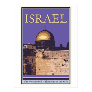 Cartão Postal Israel