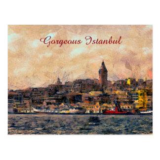 Cartão Postal Istambul lindo