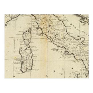 Cartão Postal Italia e Sardinia