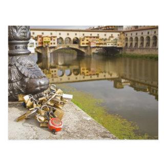 Cartão Postal Italia, Florença, fechamentos do amor e reflexões