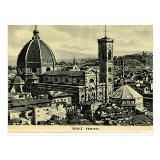 Cartão Postal Italia, Florença, Firenze, 1908, Firenze, domo 1