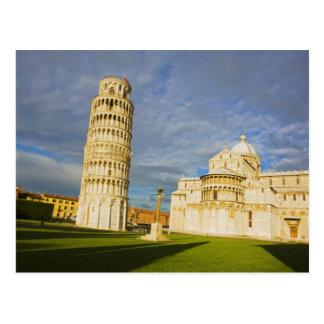 Cartão Postal Italia, Pisa, domo e torre inclinada, Pisa, 2