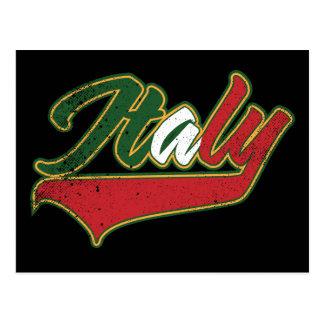 Cartão Postal Italia retro