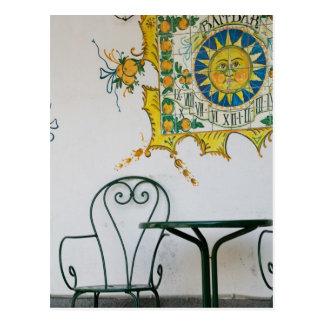 Cartão Postal ITALIA, Sicília, TAORMINA: Bam, detalhe do café do