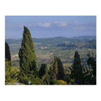 Cartão Postal Italia, Toscânia, Montepulciano. Vista do