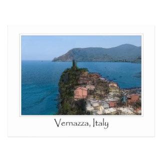 Cartão Postal Italiano Riviera de Cinque Terre Italia |