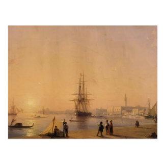 Cartão Postal Ivan Aivazovsky- Veneza