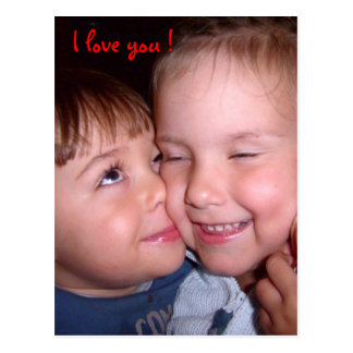 Cartão Postal J love you! Cume love