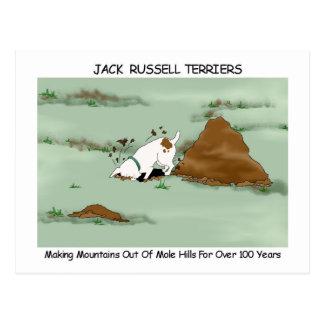 Cartão Postal Jack Russell Terrier