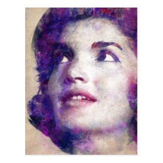 Cartão Postal Jacqueline Kennedy Onassis