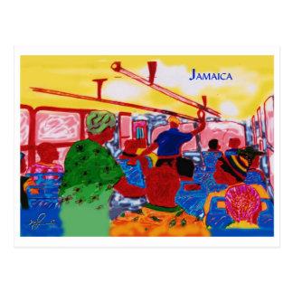 Cartão Postal JamaicanBusRide