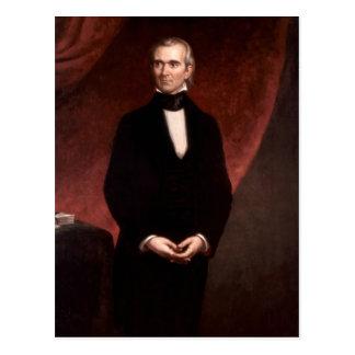 Cartão Postal James Polk