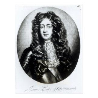 Cartão Postal James Scott, duque de Monmouth e de Buccleuch