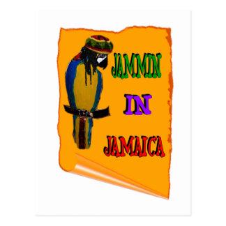 Cartão Postal Jammin em Jamaica