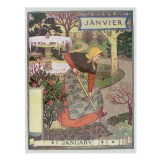 Cartão Postal Janeiro