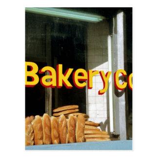 Cartão Postal Janela da padaria