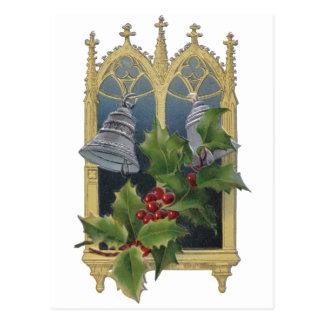 Cartão Postal Janela e Bels da igreja