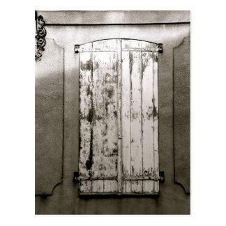 Cartão Postal Janela, Gravelines, FRANCE