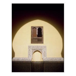 Cartão Postal Janela marroquina típica