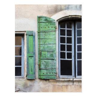 Cartão Postal janelas mediterrâneas